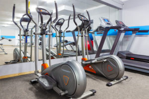 Gym equipment elliptical